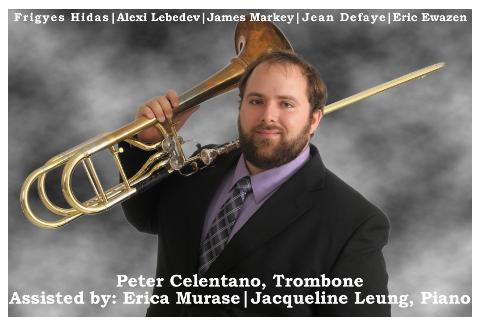 Recordings | Peter Celentano, Tenor and Bass Trombone
